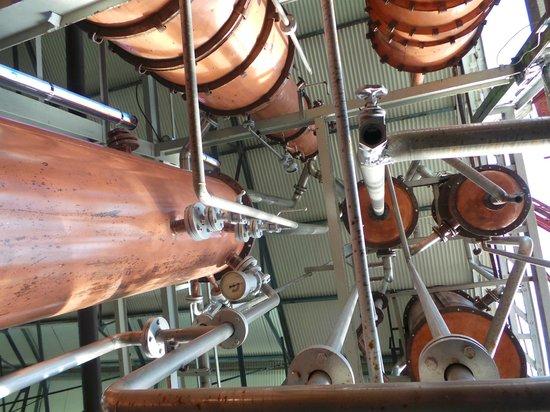 Habitation Clement: distillerie