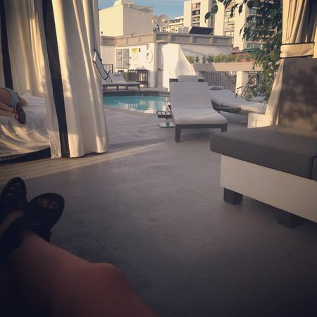 Chamberlain West Hollywood : #CabanaLife