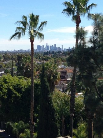 Chamberlain West Hollywood: Beautiful Day & View
