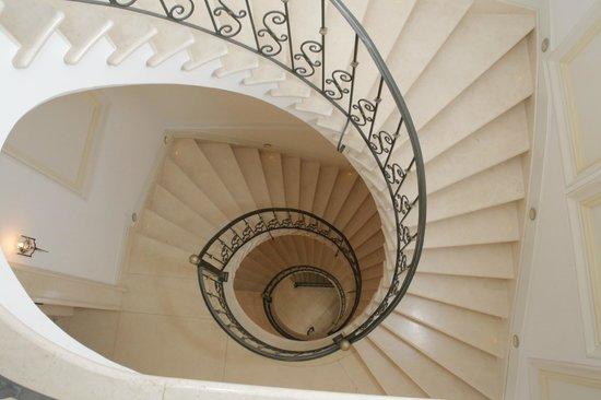 Casa Gangotena: Staircase