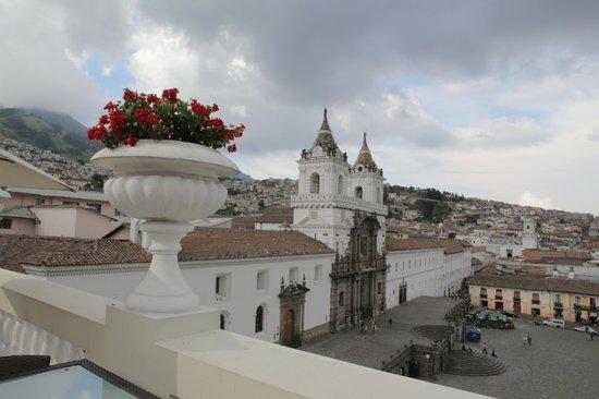 Casa Gangotena: View from 3rd story terrace