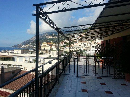 Amalfi Coast Sunrise B&B: Terrazza
