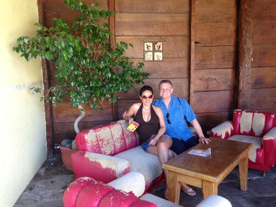 Cafe Liberia: sitting area