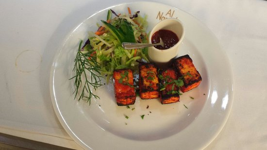 Long Eaton, UK: Akbari paneer tikka