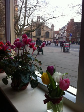 Bennett's Cafe & Bistro: View from window