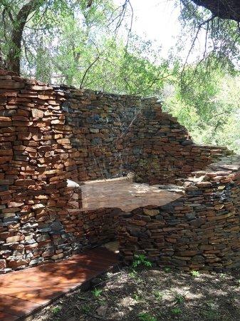 Sanctuary Makanyane Safari Lodge : The outdoor shower