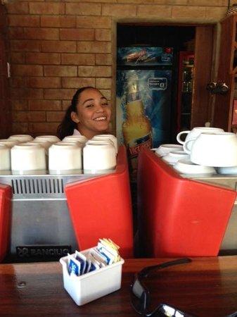 Barrio Cafe Hotel: Buenos Dias, Graysie!!
