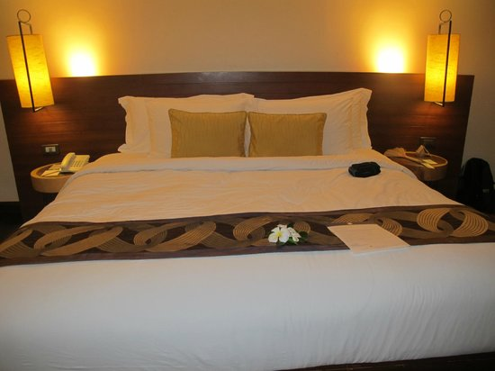 Chantaramas Resort & Spa : double bed