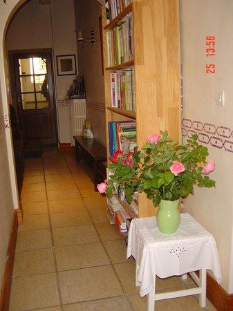 Maison d'Angeline : un couloir