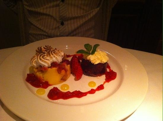 The Barns Hotel: trifle