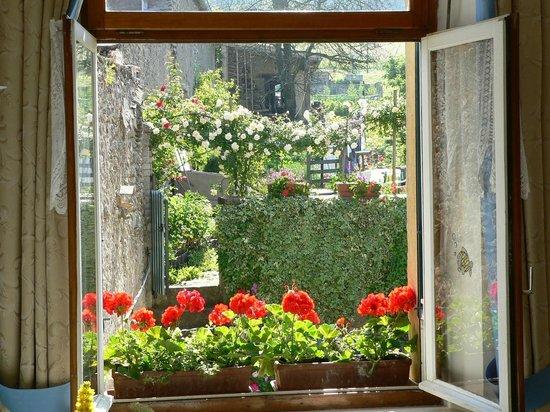 Maison d'Angeline : vue sur jardin