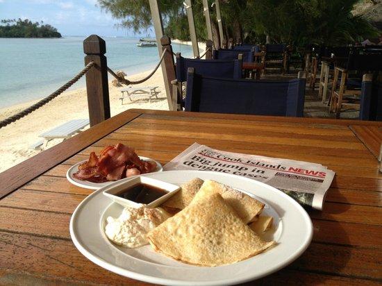 pancakes at Sails