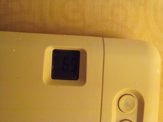 "Americana Resort : 2nd morning...after maintenance ""fixed"" the heating problem...69 degrees."