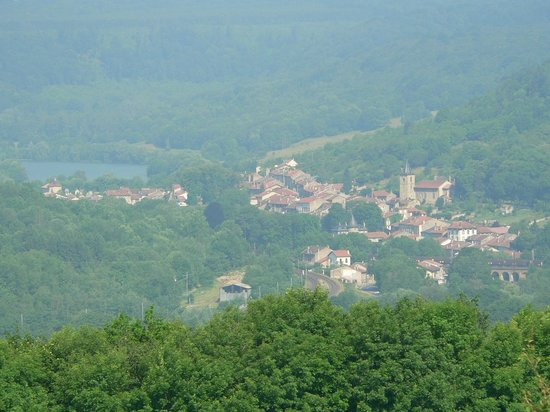 Arry, Francia: vue depuis le village