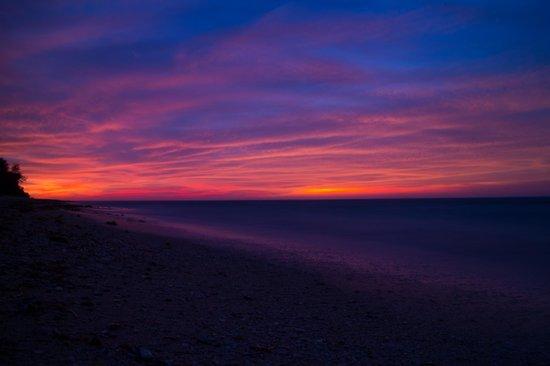 Kingfisher Resort: Sunset