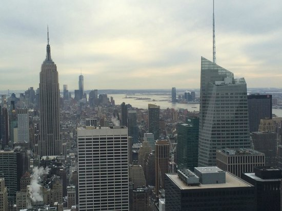 Observatorio Top of the Rock: エンパイアステートを望む