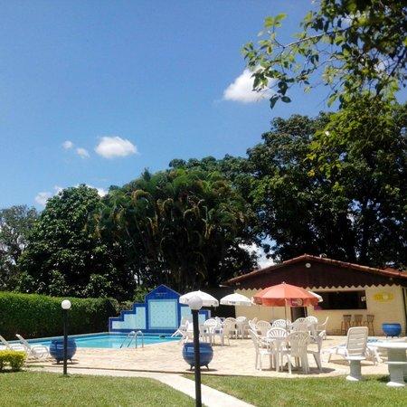 Pousada do Lago: Vista da área das piscinas