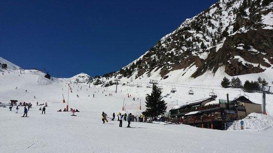 Patagonia Atiram Hotel: Blauwe lucht
