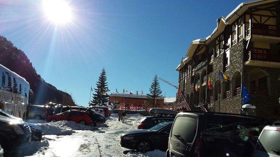 Patagonia Atiram Hotel: Sneeuw genoeg