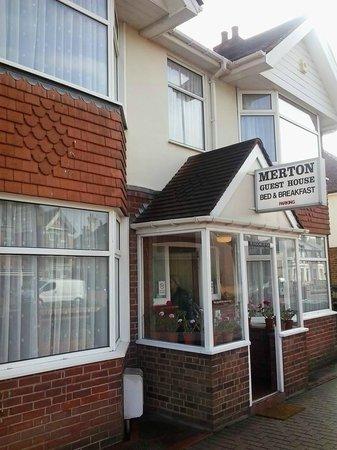 Merton House: Fachada.