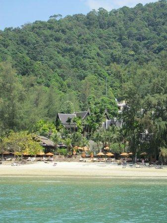 Amari Vogue Krabi : from boat