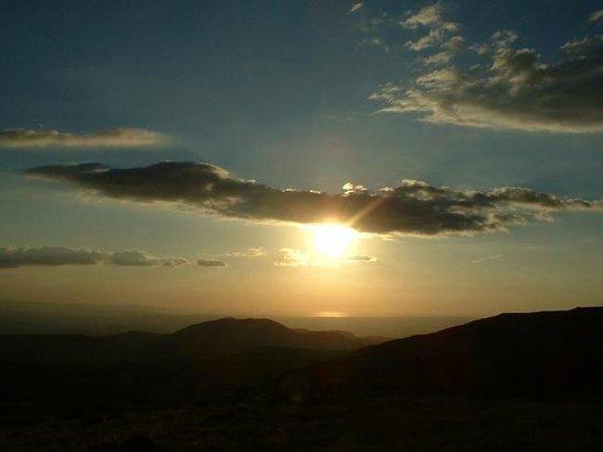 Rincon de La Vieja National Park: Hermoso atardecer en Rincón de la Vieja