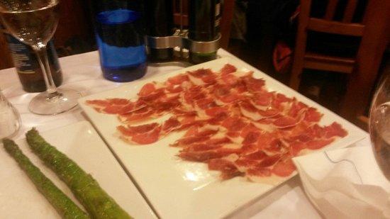 Restaurante Puerto Rico : Piatto di ottimo prosciutto iberico