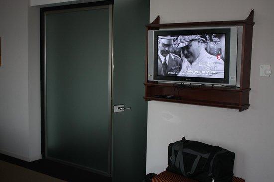Hotel Dukes' Palace Bruges : Entrée salle de bain