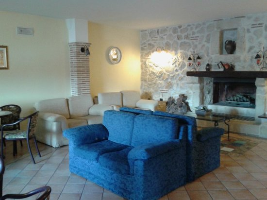 Hotel il Ghiro: sala comune