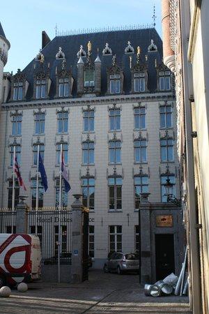 Hotel Dukes' Palace Bruges : Facade avant