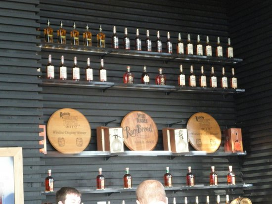 Wild Turkey Distillery : Tasting room