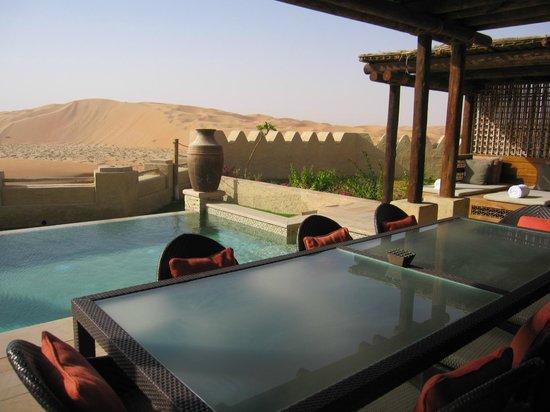 Qasr Al Sarab Desert Resort by Anantara: private pool