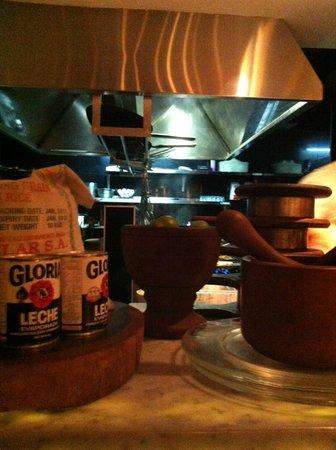 Sipan: Cocina