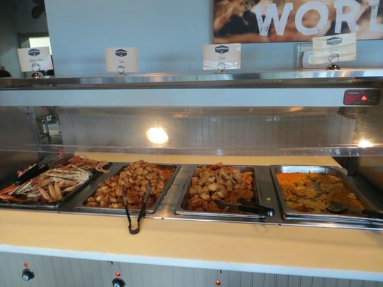 Uncle Bubba's Oyster House : Seafood Buffet