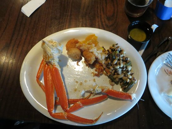 Uncle Bubba's Oyster House : Crab Legs