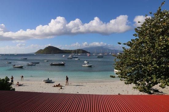 LoBleu Hotel: Aussicht vom Zimmer auf die Bucht