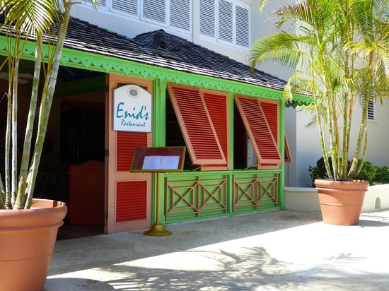 Almond Beach Resort Enid S Restaurant