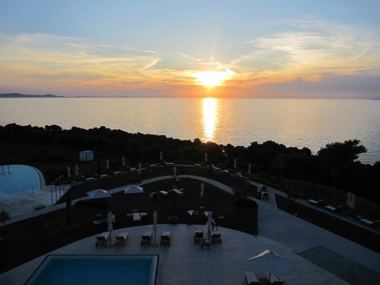 Falkensteiner Hotel & Spa Iadera : At sunset (From the suite)