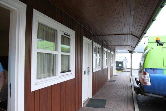 The Lovat, Loch Ness: outside door