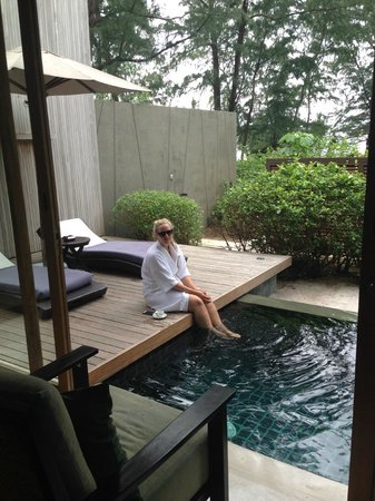 Renaissance Phuket Resort & Spa: sat by private pool