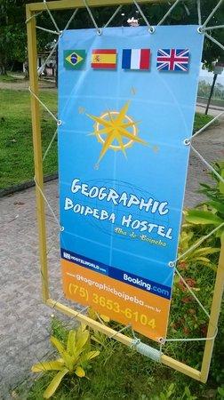 Geographic Boipeba Hostel: Entrada do Hostel