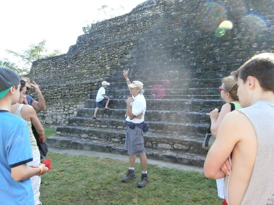The Native Choice Tours: Teacher / Tour Guide, Enrique, animated and passionate