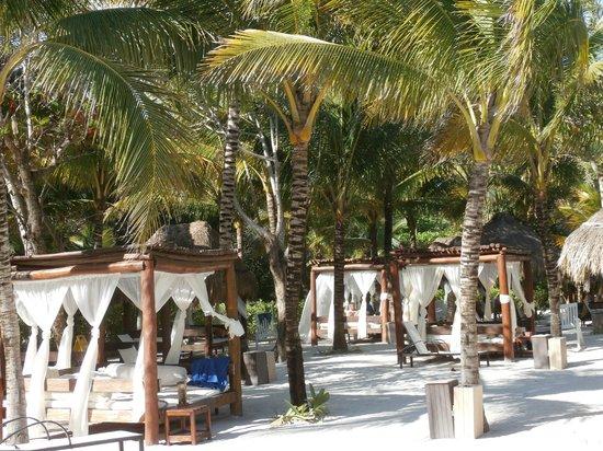 The Royal Suites Yucatan by Palladium: Royal Beach Area