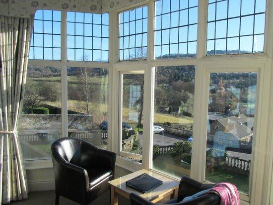 Sir William: VIEW FROM BEDROOM HUGE BAY WINDOW