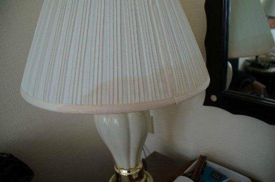 Britannia Hotel Birmingham: verdreckte Lampenschirme