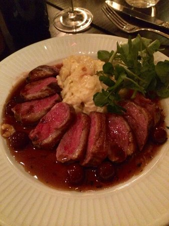 Cote Brasserie - St Martin's Lane : Duck Breast with Dauphinoise potatoes
