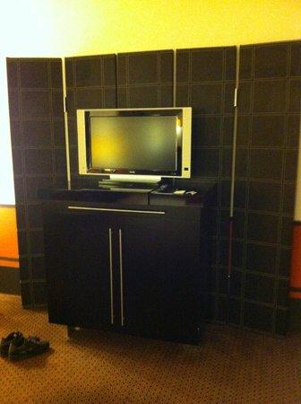 Hotel de Rome: tv lcd un po' datata