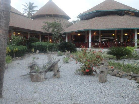 VIK Hotel Arena Blanca: Outside the buffet restaurant