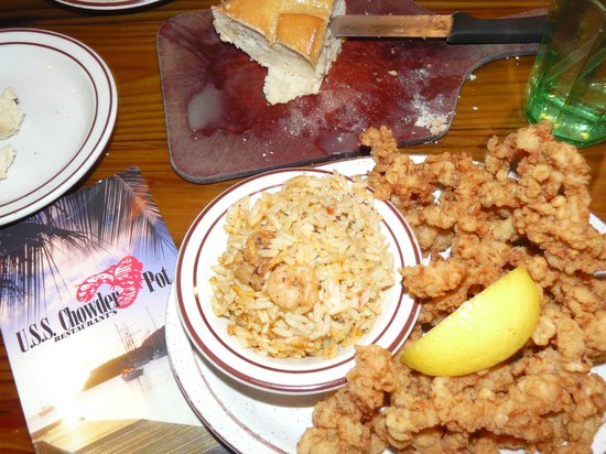 USS Chowder Pot III: Ipswich Clams - fried off course