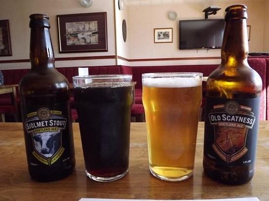 Scalloway Hotel: Beers